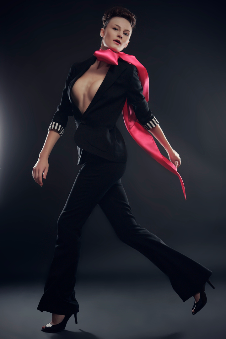 FENJA LUDWIG - Anzug mit Schlaghose